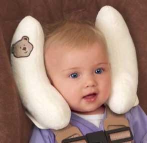 Детская подушка автомобильная