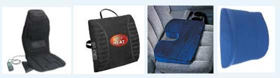 подушки в машину