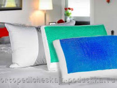 Гелевая подушка для сна
