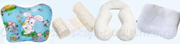ортопедической подушке для детей