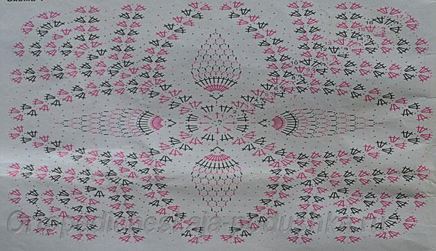 вязание-крючком-подушки-схемы