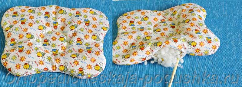 Подушка для новорожденного выкройка 154